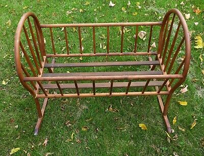Antique Wooden Baby Cradle - Brentwood