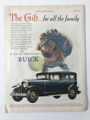1928 Buick advertisement from December 1928 Ladies Home Journal