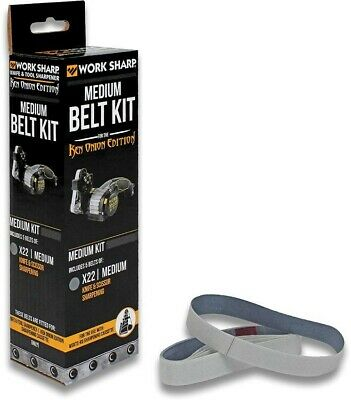 WORK SHARP 5 X22 Medium Grit Belts For KEN ONION EDITION Knife & Tool Sharpener!