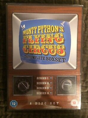 New Sealed DVD Boxset MONTY PYTHON'S FLYING CIRCUS Complete Series 1-4 - R2