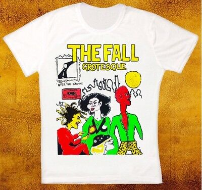 The Fall Grotesque Post Punk Band Retro Vintage Hipster Unisex T Shirt 1807