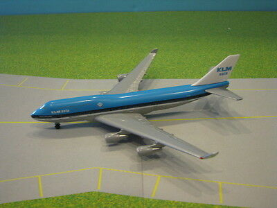 "Herpa Wings Klm Asia ""city Of Mexico"" 747-400 1:500 Scale Diecast Metal Model"