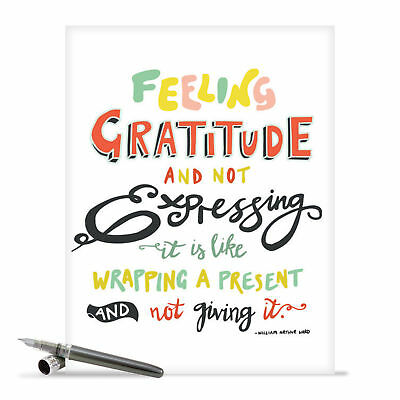 j9633ityg jumbo thank you card words of appreciation greeting with envelope
