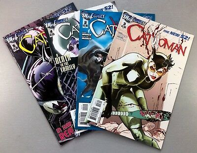 DC CATWOMAN (New 52) #2 3 4 5 LOT of 4 KEY Issues BATMAN VF/NM to NM- Ships FREE