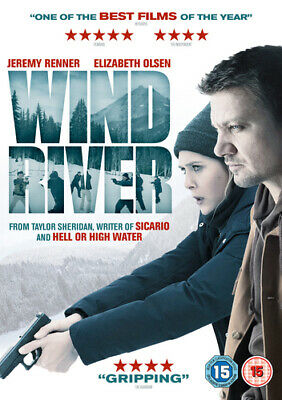 Wind River DVD (2018) Jeremy Renner, Sheridan (DIR) cert 15 Fast and FREE P & P