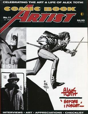 Comic Book Artist #11 - The Complete Alex Toth And Sheldon Mayer - 2001