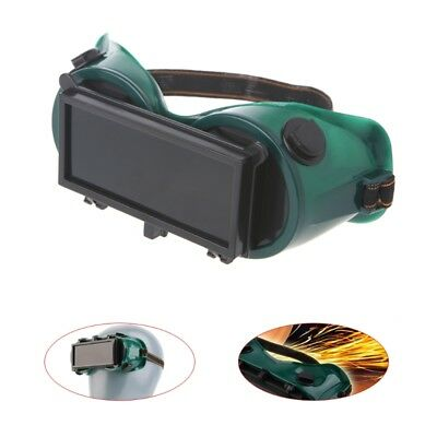 Welding Goggles With Flip up Darken Cutting Grinding Safety Glasses Green