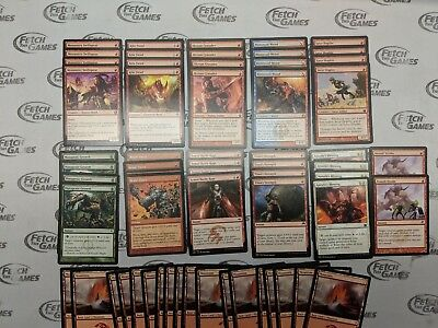 60 Card Deck Magic MTG FTG Modern RAKDOS AGGRO Ready to Play
