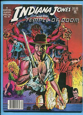 Marvel Super Special #30 Indiana Jones & The Temple Of Doom 1984 Magazine VF/NM