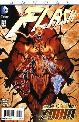 Dc New 52 The Flash #4 Annual  First Print