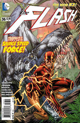 Dc New 52 The Flash #36  First Print