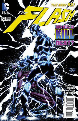 Dc New 52 The Flash #32  First Print