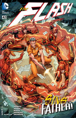 Dc New 52 The Flash #42  First Print