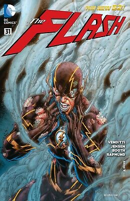 Dc New 52 The Flash #31  First Print