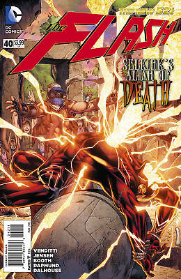 Dc New 52 The Flash #40 First Print