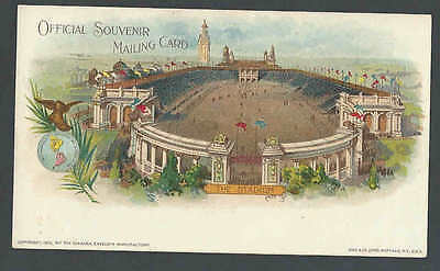 1901 PPC* Pan American Expo Buffalo NY The Stadium Private Mailing See Info