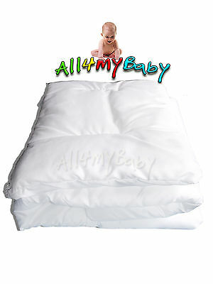 ANTI ALLERGY PILLOW and DUVET/QUILT BABY FILLING Nursery Bedding Set Cot/Cotbed
