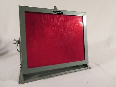 Vintage Eastman Kodak Utility Safelight Lamp Model 1012 Darkroom Safe Light