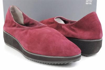 ca500562325 WOMENS EILEEN FISHER Mellow Platform Low Wedge Shoes Raisonette Suede Size  9.5 -  118.99