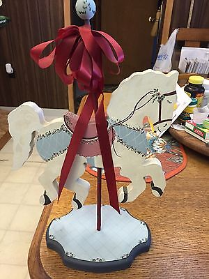 Wood Painted Carousel Horse