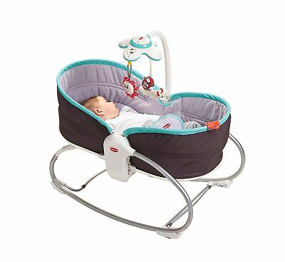 Tiny Love 3 In 1 Baby Rocker Napper Vibrating Swings Bouncer Feeding Chair Grey