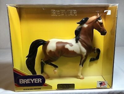 Breyer model horse #479 pinto National Show Horse, traditional scale, new in box