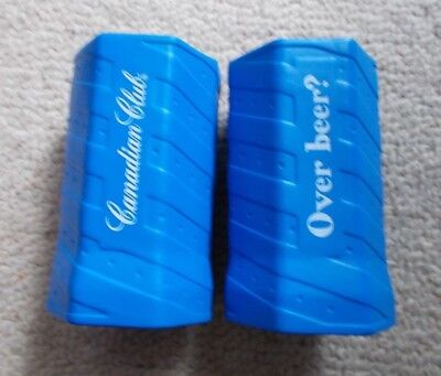 RARE CANADIAN CLUB HOLDERS x 2 OFF   , NEW