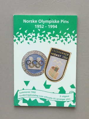 Norske Olympiske Pins 1952-1994 Winter Olympic Pins Sommeren 1992