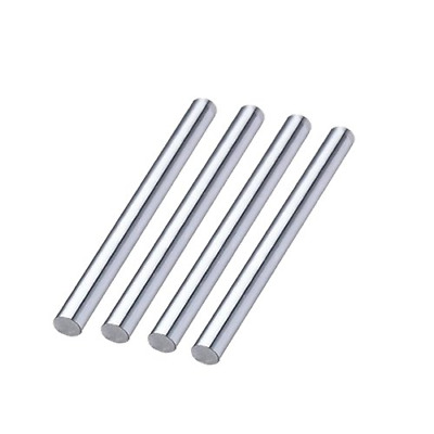 4Pcs 8mm x 500mm chrome plated linear motion guide rail round rod shaft for cnc