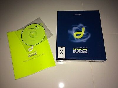 Macromedia Dreamweaver MX Vintage Software (Mac), UPGRADE