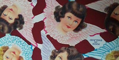 Vintage Style Scrap Relief Sheet Scrapbook Craft Angels And Cherubs