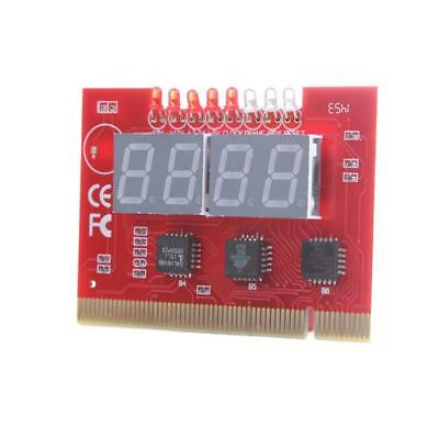 Mini LED 4 Analyse Diagnose Tester POST Karte PCI PC Analyzer Motherboard^