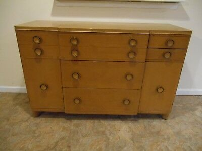 Art Deco / Mid Century Modern Credenza Buffet Sideboard Server 1948 Very Nice