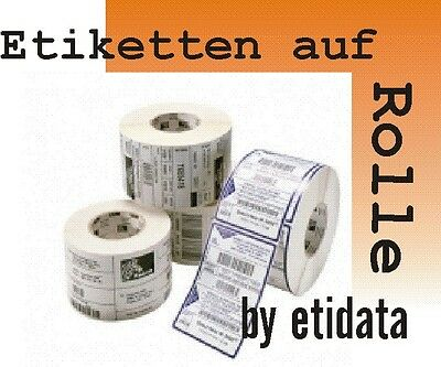 Zebra Z-Select 2000D 100x50mm 87000 Thermal Paper Thermo Rolls Label Roll