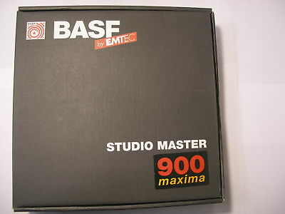 "BASF Studio Master 900 Maxima  2"" 2500' 762m 10.5"" high output magnetic tape NOS"