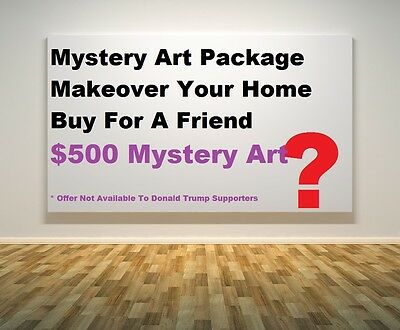 Mystery Art Package? Only $500