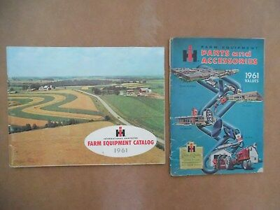 Vtg 1961 International Harvester Ih Farm Equipment & Parts & Accessories Catalog