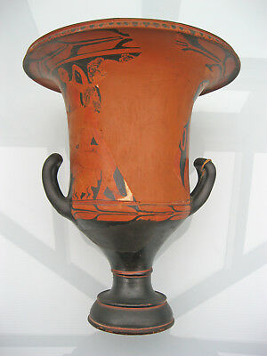 original antike Kertscher Vase ~350 v. Chr Greece Kelchkrater calyx-krater Kerch