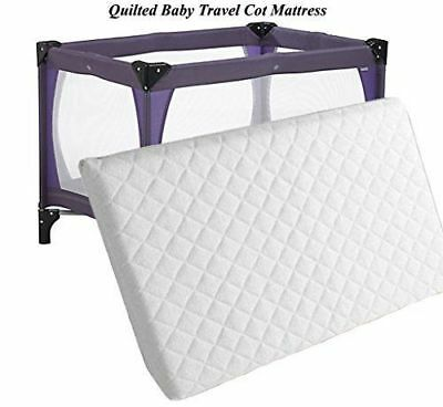 2018 Thick Travel Cot Mattress to fit Redkite, Graco. 95 x 65  x 7 cm (FF)