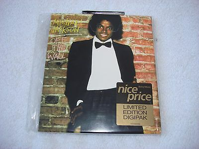 Michael Jackson Off The Wall Limited Edition Card slv Digipak CD Album Mega Rare