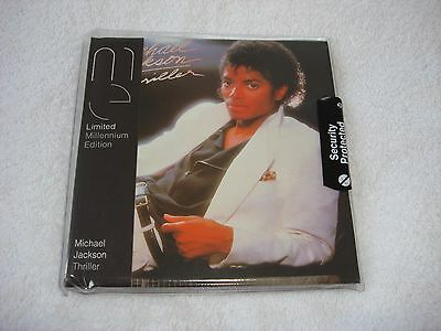 Michael Jackson Thriller Limited Millennium Edition CD Album Mega Rare