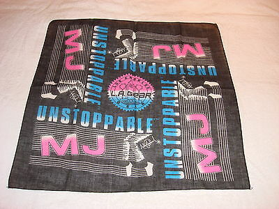 Michael Jackson L.A. Gear Original 1989 Official USA Scarf NEW MEGA RARE