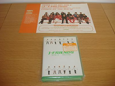Michael Jackson / J-Friends Children's Holiday CD Single Pack / Poster Mega Rare