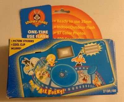 "Looney Tunes 1998 ""That's All Folks"" Point & Shoot 110 Film Camera"