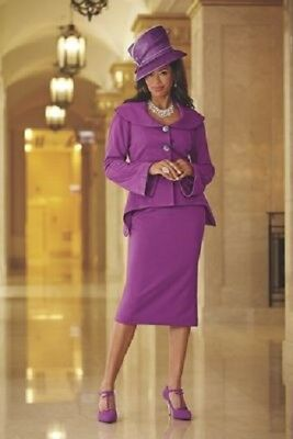 plus sz 18W Belle Skirt church career Suit by Ashro new
