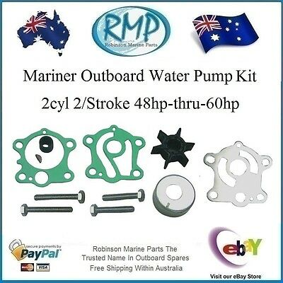 A Brand New Water Pump Kit Mariner 2cyl 48hp-thru-60hp # R 47-84187M