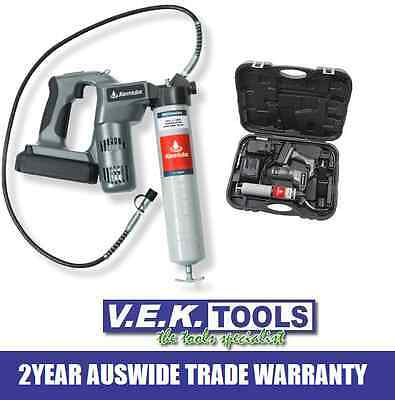 Alemlube Tools 18V 450G Cordless Grease Gun Combo Kit-Bobcat,truck,equipment Sp