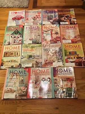 Vintage Lot of 15 Mary Engelbreit's Home Companion Magazines