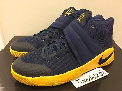 DS Nike Kyrie 1 sz 5.5Y Navy/Yellow Irving cavs GS Grade School Youth 826673 447