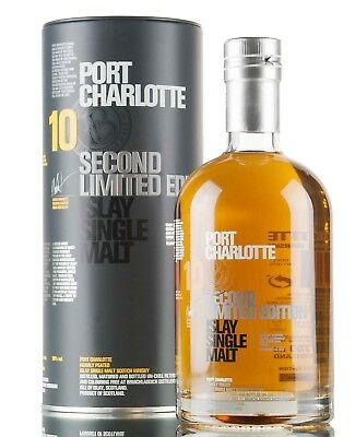 Bruichladdich Port Charlotte 10YO Second Limited Edition Single Malt Whisky